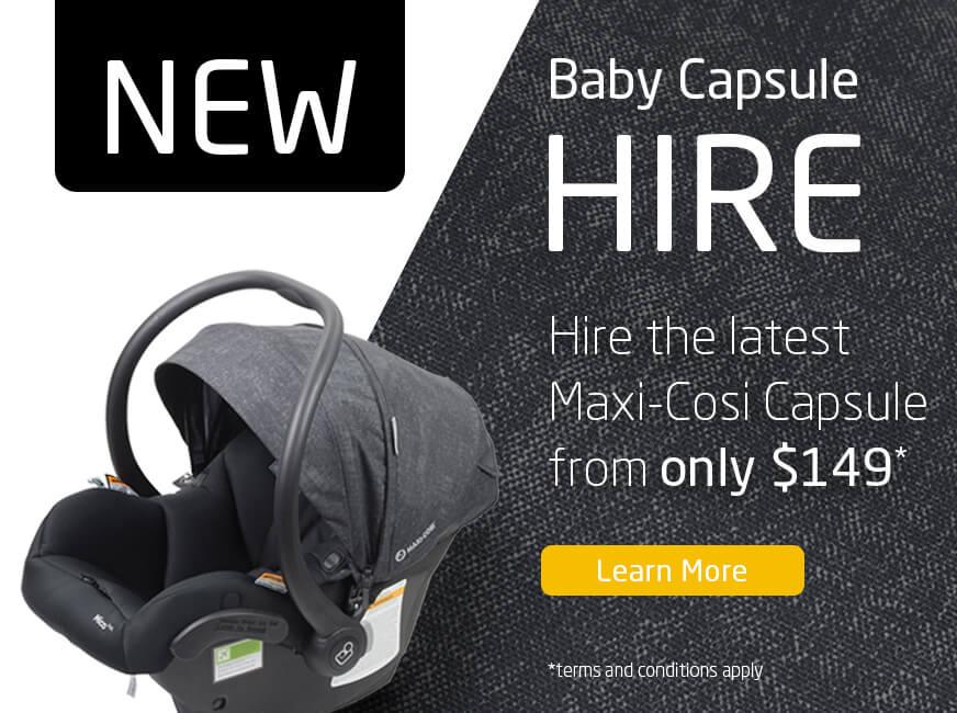 Baby Capsule Hire