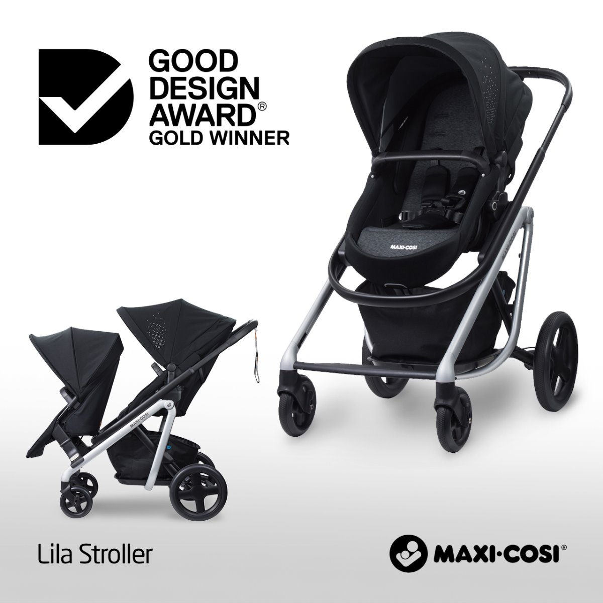 Maxi-Cosi Lila Stroller Good Design Award Gold Winner