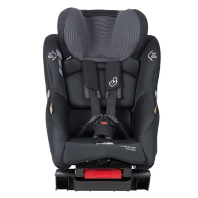 vela slim baby car seat with adjustable headrest