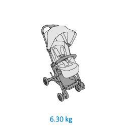 Lara Stroller Weight 6.3 Kg