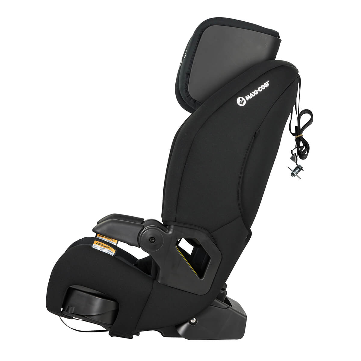 luna smart booster seat - recline comfort