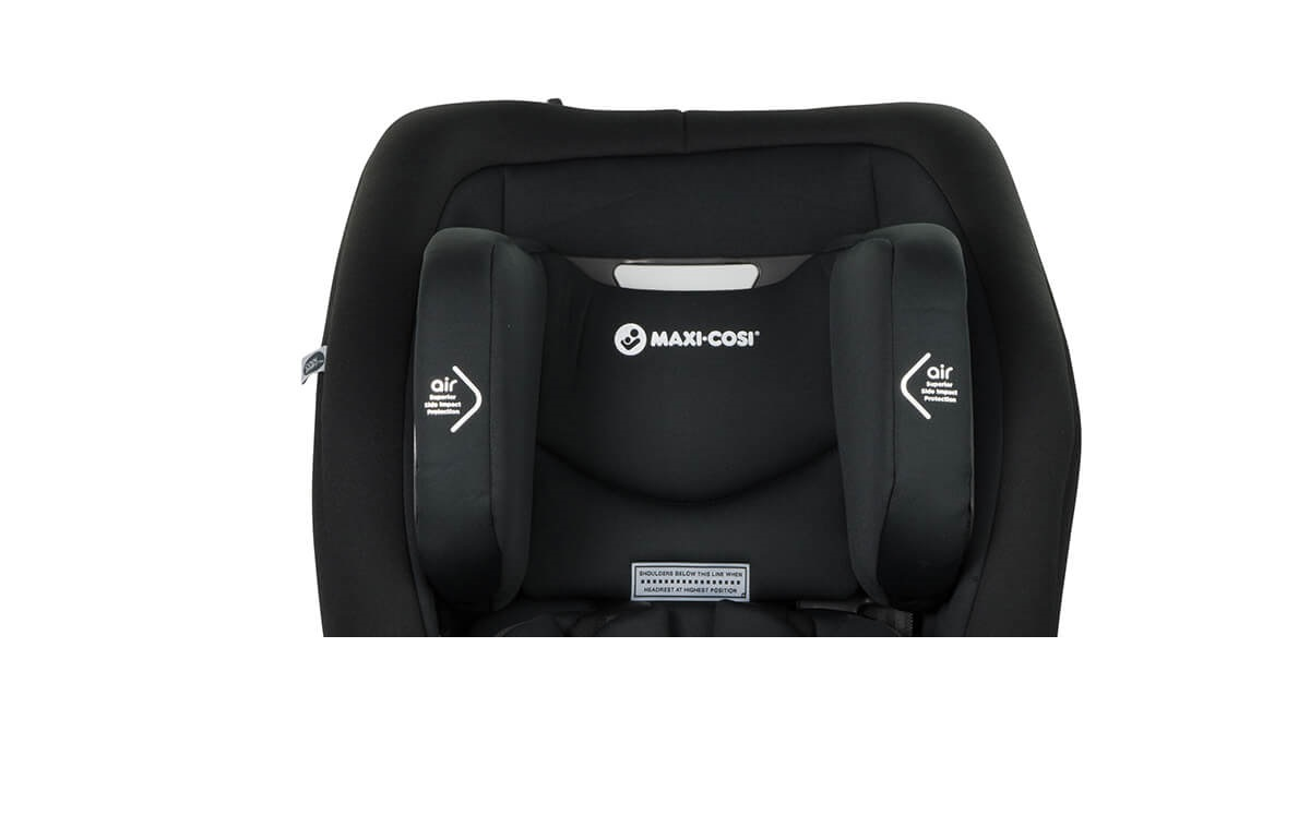 luna smart booster seat - headrest airprotect