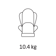 Car seat weight