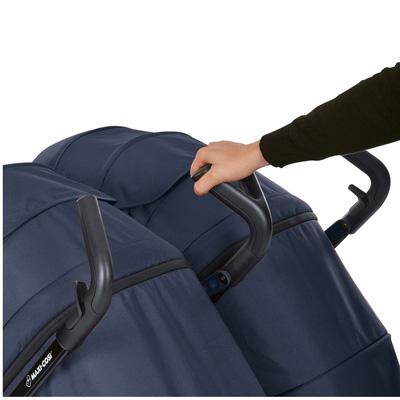 Maxi-Cosi Dana For2 Twin Stroller flexible handle