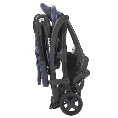 Maxi-Cosi Laika Stroller folded in standing position